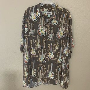Vintage Art of Eddy Reyn Spooner guitar shirt
